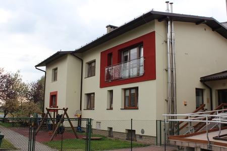 Przedszkole Publiczne nr 1 w Górkach Małych - budynek (kliknięcie spowoduje powiększenie obrazu)